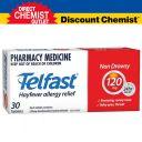Telfast 退烧药 退过敏药 120mg 30 粒 (限购1盒)