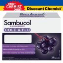 Sambucol 小黑果成人专用 预防感冒胶囊24粒 增加免疫力