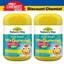 【两件装】Nature's Way 儿童Omega-3+复合维生素软糖 50粒