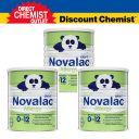 【三罐装包邮】Novalac拜耳宝怡乐 大米蛋白水解防过敏婴儿奶粉(0-12个月) 800g