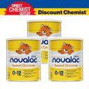 【三罐装包直邮】Novalac拜耳宝怡乐 舒睡婴儿奶粉(0-12个月)800g