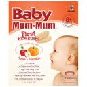 Baby Mum-Mum婴幼儿磨牙米饼 苹果南瓜味 36克