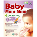 baby mum-mum 婴幼儿磨牙米饼 蓝莓+胡萝卜口味36g