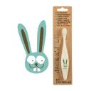 Jack N' Jill 婴幼儿童天然有机玉米淀粉护齿牙刷(兔子款)