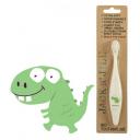 Jack N' Jill 婴幼儿童天然有机玉米淀粉护齿牙刷(恐龙款)