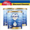 【三罐装包邮】Aptamil 爱他美金装奶粉1段 900g