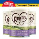 Karicare+可瑞康 婴幼儿配方牛奶粉2段 6-12个月 900g